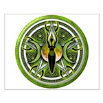 Pentacle of the Green Goddess Small Poster