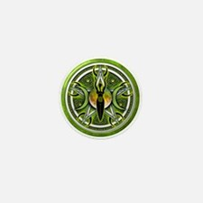 Pentacle of the Green Goddess Mini Button