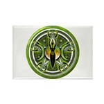 Pentacle of the Green Goddess Rectangle Magnet