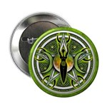 "Pentacle of the Green Goddess 2.25"" Button"