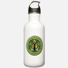 Pentacle of the Green Goddess Water Bottle