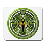 Pentacle of the Green Goddess Mousepad