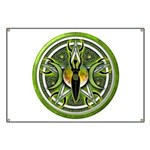 Pentacle of the Green Goddess Banner