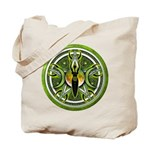 Pentacle of the Green Goddess Tote Bag