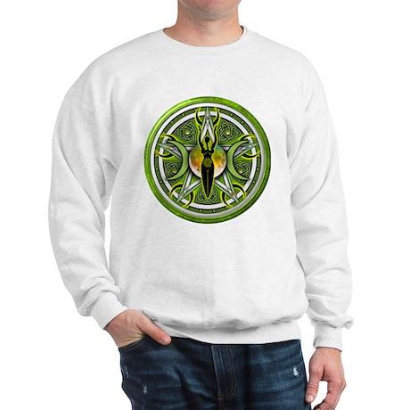 Pentacle of the Green Goddess Sweatshirt