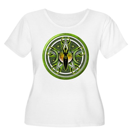 Pentacle of the Green Goddess Women's Plus Size Sc