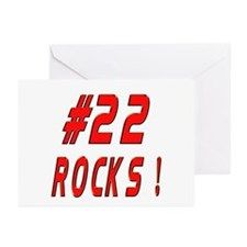22 Rocks ! Greeting Cards (Pk of 10)