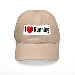 I Love Running Cap