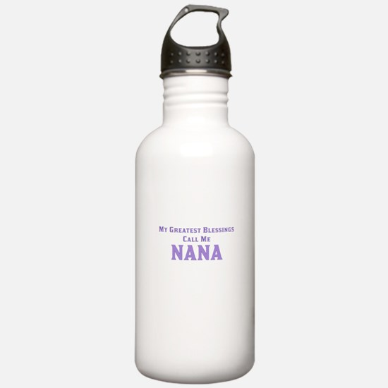 My Greatest Blessings Water Bottle