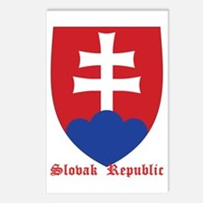 Slovak Republic Postcards (Package of 8)