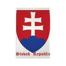 Slovak Republic Rectangle Magnet
