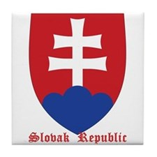 Slovak Republic Tile Coaster