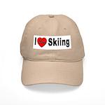 I Love Skiing Cap