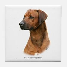 Rhodesian Ridgeback 9Y338D-041 Tile Coaster