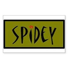 Spidey Rectangle Decal