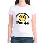 Don't tell anybody I'm 44 Jr. Ringer T-Shirt