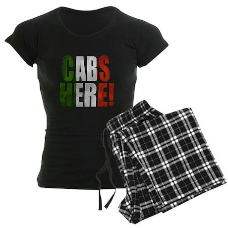 CABS HERE 2 Women's Dark Pajamas