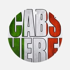 CABS HERE 2 Ornament (Round)