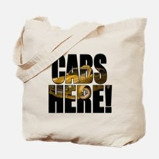 CABS HERE 3 Tote Bag