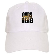 CABS HERE 3 Baseball Baseball Cap