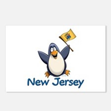 New Jersey Penguin Postcards (Package of 8)