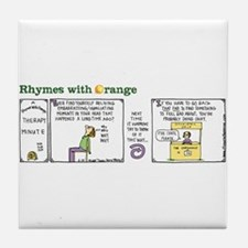 Therapy Minute Tile Coaster