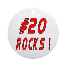 20 Rocks ! Ornament (Round)