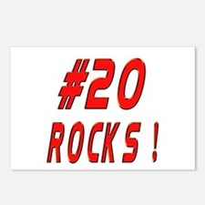 20 Rocks ! Postcards (Package of 8)