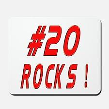 20 Rocks ! Mousepad