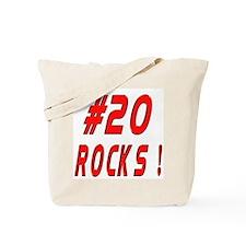 20 Rocks ! Tote Bag