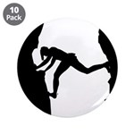 "Bouldering Rock Climber 3.5"" Button (10 Pk)"