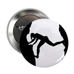 "Bouldering Rock Climber 2.25"" Button (10 Pk)"