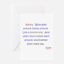Kate's Karma Greeting Cards (Pk of 20)