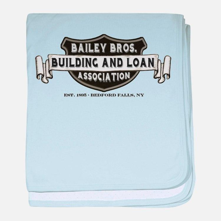 Bailey Bros. B&L baby blanket