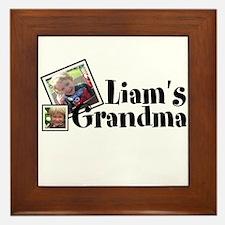 Customizable Name Grandma Framed Tile
