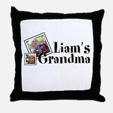 Customizable Name Grandma Throw Pillow