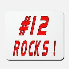 12 Rocks ! Mousepad