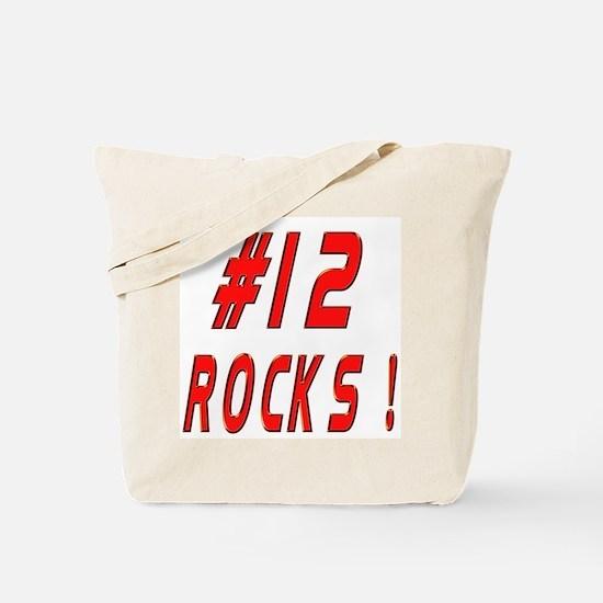 12 Rocks ! Tote Bag