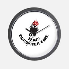 Cute Disaster Wall Clock