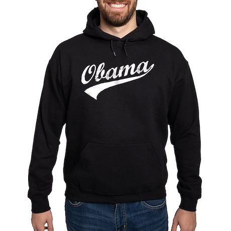 Obama Retro Hoodie (dark)