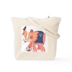 Boozie the Drunk Elephant Tote Bag