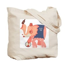 Boozie the Drunk Elephant Tote Bag