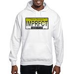 I'm Perfect NJ Vanity Plate Hooded Sweatshirt