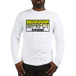 I'm Perfect NJ Vanity Plate Long Sleeve T-Shirt