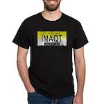 I'm A Cutie NJ Vanity Plate Black T-Shirt