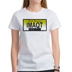I'm A Cutie NJ Vanity Plate Women's T-Shirt