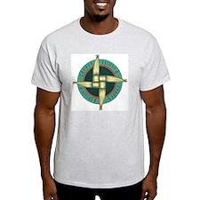 Brigit's Cross Ash Grey T-Shirt