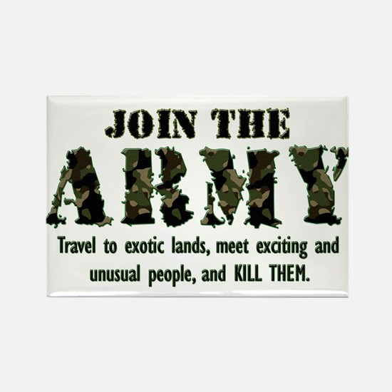 Join the Army Rectangle Magnet