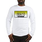 I'M A 10 NJ Vanity Plate Long Sleeve T-Shirt