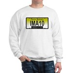 I'M A 10 NJ Vanity Plate Sweatshirt